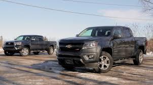 2015 Chevrolet Colorado vs 2015 Toyota Tacoma - YouTube