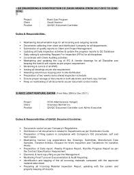 Job Profile Of Document Controller Document Controller Job Description Template Cakeb