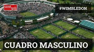 Cuadro ATP Wimbledon 2021 - Canal Tenis