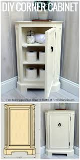 ... Bathroom Corner Cabinets Build This Space Smart Corner Cabinet With The  Free Building Plans ...