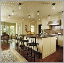 lighting for vaulted kitchen ceiling
