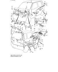 wiring harness for suzuki wagon r plus solio wide rb310 0 wiring harness