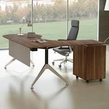 L shape furniture Shaped Sectional Manhattan Collection Teardrop Lshape Executive Desk Wayfair Haaken Furniture Manhattan Collection Teardrop Lshape Executive