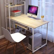 simple home office desk. Simple Home Office Cheap Computer Desk With Shelf