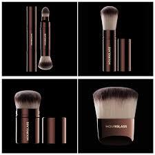 brand hourgl makeup brushes retractable kabuki plexion powder foundation blending bronzer contour make up brushes makeup brushes stila cosmetics