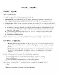 Resume Objectives For High School Students With Noperience Good