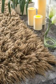 flokati area rugs hand woven new wool milk chocolate area rugs 5 feet by flokati area rugs