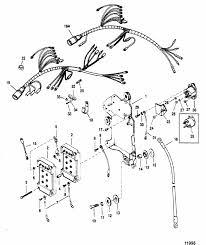 mercury marine v 150 hp xri efi wiring harness starter engine section