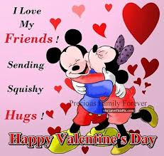 Valentine Quotes For Friends Beauteous Disney Valentine's Day Quote For Friends Pictures Photos And