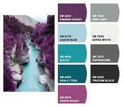 Colors That Go With Purple Best 25 Purple Color Schemes Ideas On Pinterest  Purple Palette