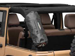 Rightline Gear Roll Bar Storage Bag Black 87 20 Jeep Wrangler Yj Tj Jk Jl