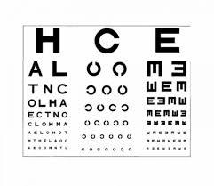 Eye Chart Used At Dmv 50 Printable Eye Test Charts Printable Templates