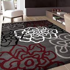 clearance area rugs 5x7 red com