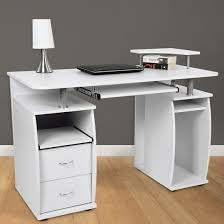 white computer desk. Small White Computer Desk Uk Incredible With Drawers Full C