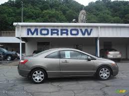 2006 Galaxy Gray Metallic Honda Civic LX Coupe #13302324 ...