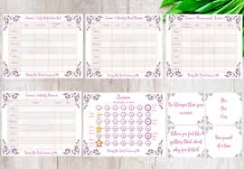 Details About Personalised Weight Loss Chart Diet Slimming World Weight Watchers Tracker