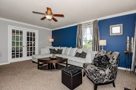 Blue Accent Wall 26 blue living room ideas (interior design pictures) -  designing idea