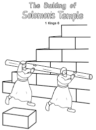 Small Picture Free King Solomon Bible page to color Christian Coloring Pages