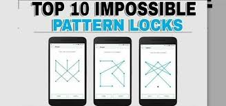 Phone Pattern Lock Beauteous 48 Hardest Pattern Lock Ideas For Android Phone And Tab Android