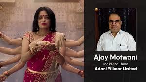 Interview: Ajay Motwani, Adani Wilmar Limited on Fortune Foods' Pujo  campaign - Social Samosa