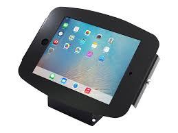 compulocks ipad enclosure kiosk space wall or desk mount ipad kiosk fits ipad 2 3 4 black