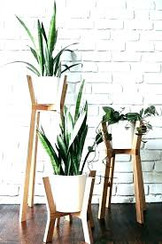 garden pot stands planter indoor plants nice decorating with wooden plant black stand nz holders me