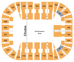 Verizon Arena Pbr Seating Chart Pbr Professional Bull Riders
