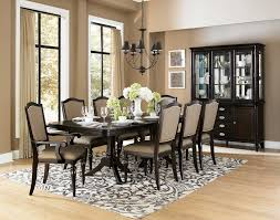 Affordable Dining Room Tables Pedestal Tone Dining Table White Brooklyn Black Dining Room Set