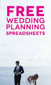 Printable Wedding Planner Customizable And Free Wedding Spreadsheets