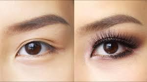 easy eye makeup for hooded or asian eyes