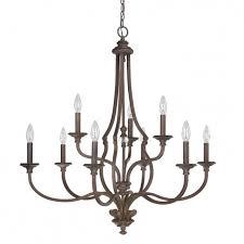 9 light chandelier