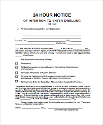 notice to tenant to make repairs templates sample notice letter 21 documents in pdf word