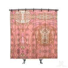 image 0 boho chic shower curtain bathrooms uk pink bohemian