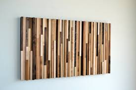 reclaimed wood panel wall art
