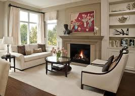 cozy living room with fireplace. 15 Cozy Living Rooms With Fireplaces Regard To Brilliant Room Fireplace Ideas