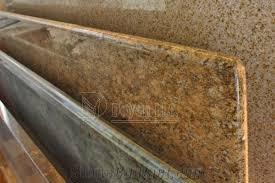 laminated full bullnose edge kitchen granite countertop brazil yellow granite countertops
