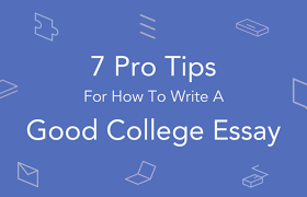 tips for writing a good college essay essaypro tips for writing a good college level essay