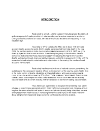 essay on road accidents in  road accident in essays studymode