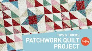 Patchwork Quilt Patterns Fascinating Patchwork Quilt Project Perfect Points Every Time Craftsy