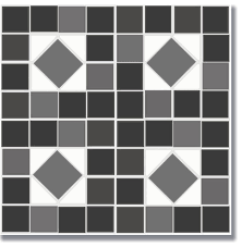 beautiful vinyl flooring black and white flooradorn black and white mosaic 6 pack traditional vinyl