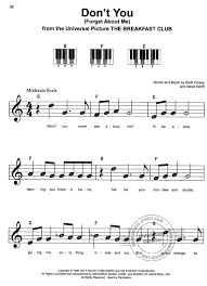 Easy piano sheet music with letters havana camila cabello easy piano free easy piano sheet music with s love letters sheet music for piano solo v2. Three Chord Songs Buy Now In The Stretta Sheet Music Shop