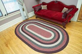 details about braided jute earth rug capitol earth rugs 6 x 9 oval many colors and sizes new