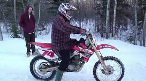 first timers on honda 250 dirtbike youtube
