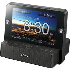 sony clock radio. sony icf-cl75ip multi-function clock radio for ipod c