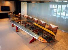aviation themed furniture. airplaneinspired furniture the wing conference table was modeled after waco biplane gallery aviation themed