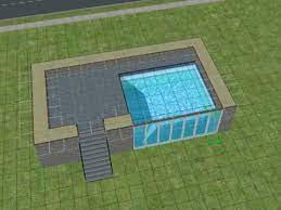 the sims2 making a pool with windows