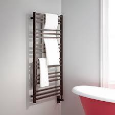 24 Miletos Extra Tall Hardwired Towel Warmer Bathroom
