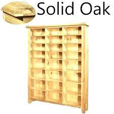 allegro cd dvd vhs storage cabinet with glass doors racks plastic rack cabinets solid oak furniture large media shelves rac