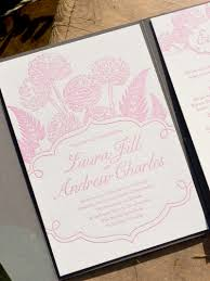 laura andrew's pink and gray floral wedding invitations Letterpress Wedding Invitations Ma Letterpress Wedding Invitations Ma #13 letterpress wedding invitations atlanta