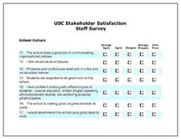 School Survey Questions Stakeholder Satisfaction Surveys Center On Educational Governance